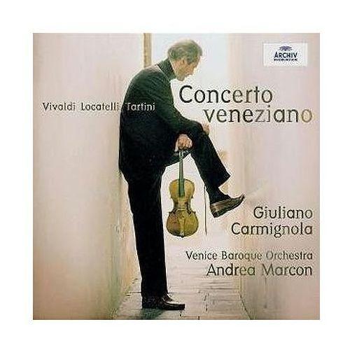 Universal music / deutsche grammophon Concerto veneziano - giuliano carmignola (płyta cd)