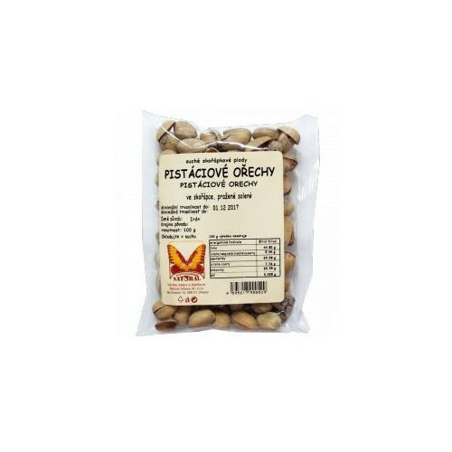 Natural Przecena orzeszki pistacjowe niełuskane prażone i solone 100 g