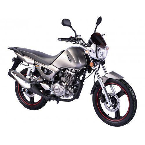 Motocykl ZIPP TOPOS ZT125-5A Ion 125 Srebrny (2015) od Media Expert
