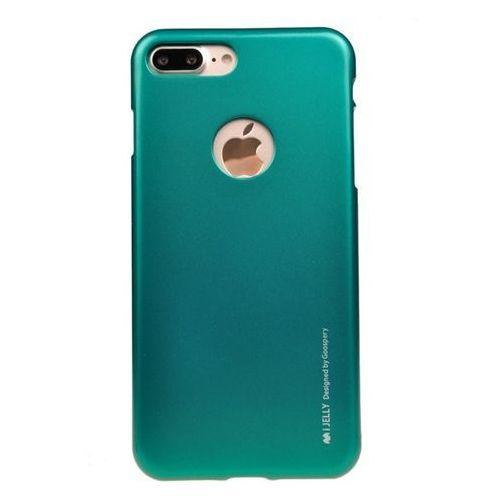 Mercury Etui nakładka goospery ijelly case do apple iphone 7 plus / iphone 8 plus zielone - zielony (5901737369185)