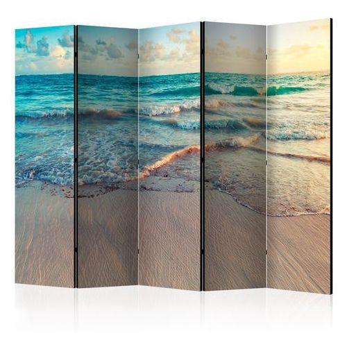 Artgeist Parawan 5-częściowy - plaża w punta cana ii [room dividers]