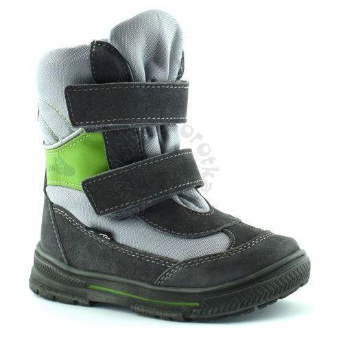 0e2984cc1e2f8 ... Ren but Śniegowce dla dzieci z membraną renbut 22-3216 - zielony    szary 229,90 zł Wysokiej jakości zimowe obuwie dziecięce tworzone z  naturalnej skóry ...