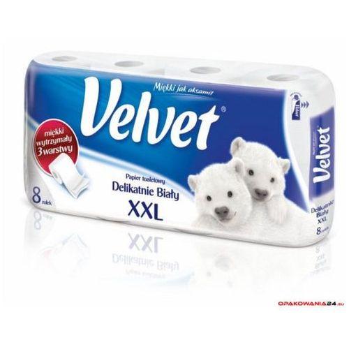 Papier toaletowy VELVET XXL 3 warstwy (8szt.) biały 153.133