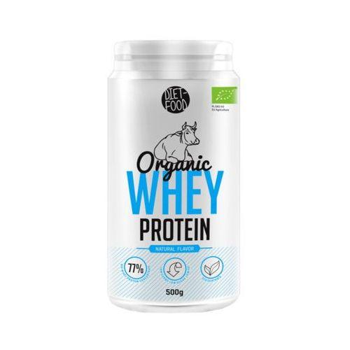 Diet food 500g organic whey protein białko z serwatki bio marki Diet-food