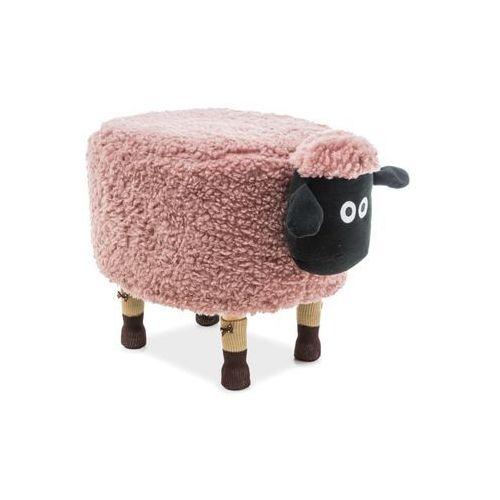 Pufa Zwierzak - Signal - Owieczka Oliwia - różowy