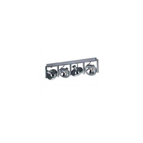 53064/48/16 FAST - listwa 4x60W aluminium POLECAMY '''' WYSYŁKA 48H ''', 53064/48/16
