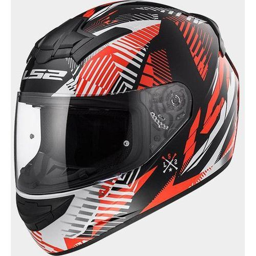 Ls2_2018 Kask ls2 ff352 rookie infinite white-black-red