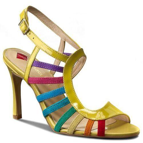 Sandały MACCIONI - 511 Żółty