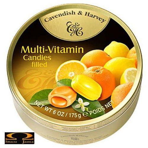 Landrynki Cavendish & Harvey Multiwitamina cytrynowo pomarańczowe 200g, 209