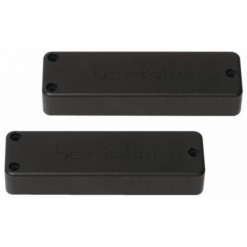 Bartolini xxp25c-b - soapbar bass przetwornik, quad coil, 5-string, neck