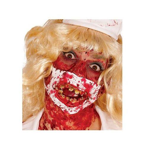 Guirca Zakrwawiona maseczka chirurgiczna z zębami - 1 szt.