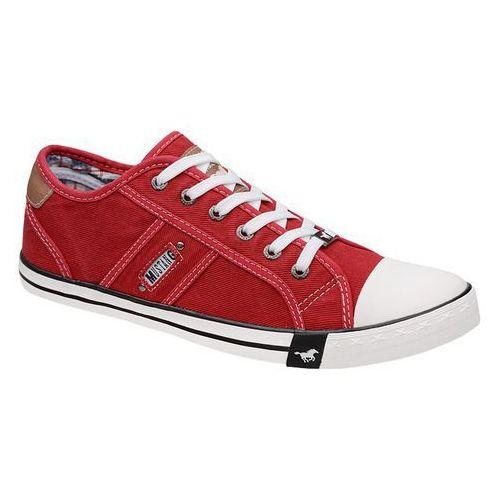 Trampki MUSTANG 44A061 Czerwone 4058-305-5 Rot - Czerwony (4053974178585)