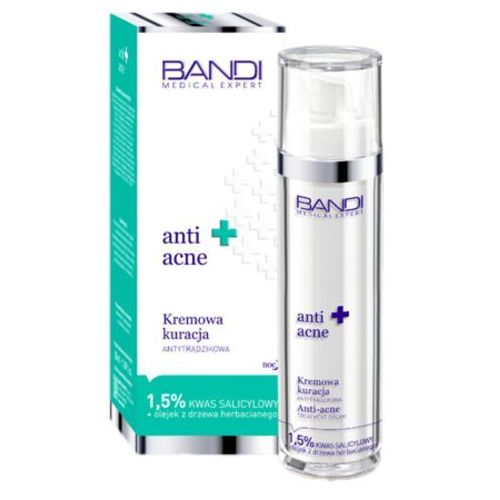 Bandi medical anti acne treatment cream kremowa kuracja antytrądzikowa (nx03)