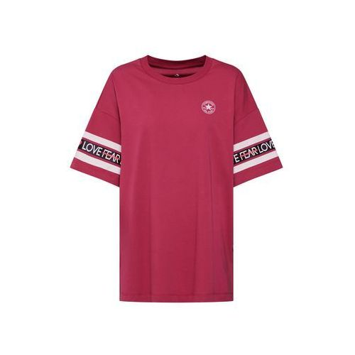 CONVERSE Koszulka oversize różowy, kolor różowy
