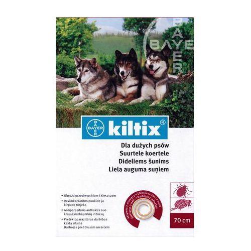 BAYER Kiltix - Obroża dla psów dużych (dł. 70cm) ze sklepu KrakVet