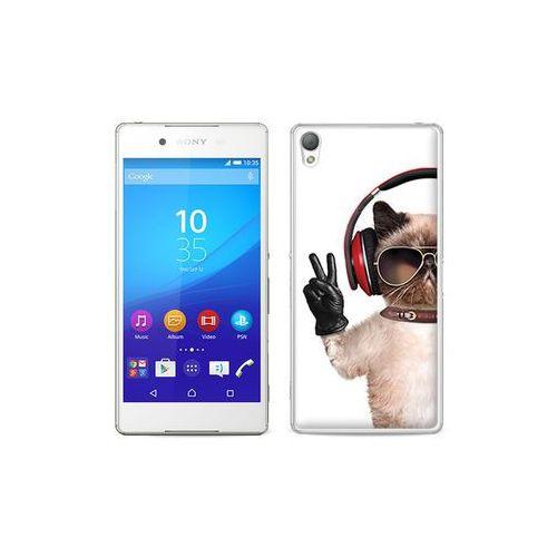 etuo Foto Case - Sony Xperia Z3+ - etui na telefon Foto Case - śmieszny kot, ETSN197FOTOFT002000