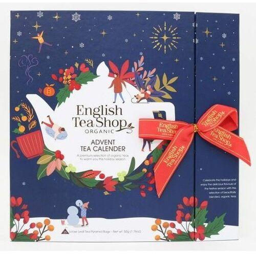 English tea sho Zestaw herbatek światecznych kalendarz adwentowy (25x2) bio 50 g