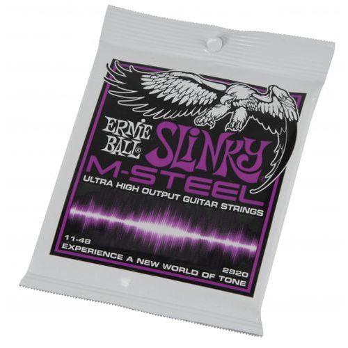 Ernie Ball 2920 M-Steel Slinky 11-48 struny do gitary elektrycznej