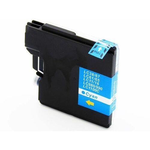Lc1100c / lc980c tusz niebieski do drukarek brother dcp-145 / 165 / 195 / 365 / nowy zamiennik / 20ml. marki Dd-print