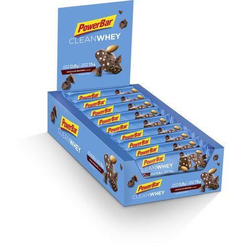 clean whey żywność dla sportowców chocolate brownie 18 x 45g 2019 batony i żele energetyczne marki Powerbar