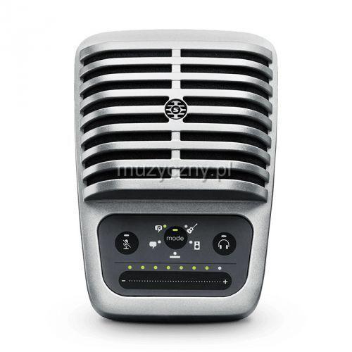 motiv mv51 mikrofon pojemnościowy usb/lightning marki Shure