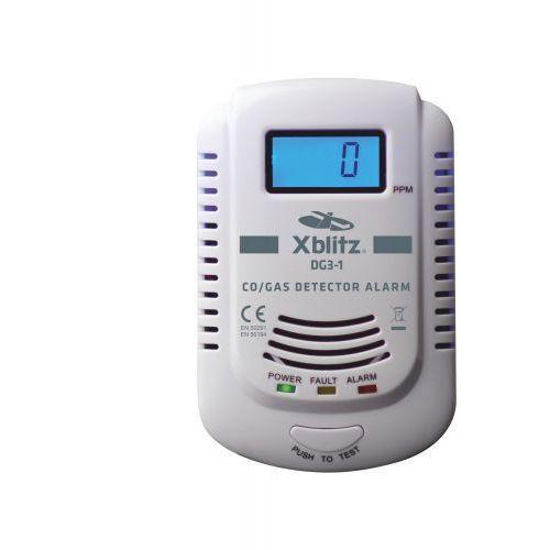 Czujnik czadu i gazu co / gas alarm dg3-1 marki Xblitz