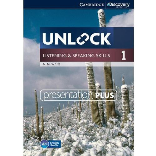Unlock: Listening and Speaking Skills 1. Presentation Plus DVD-ROM, N.M. White