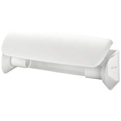 Pojemnik na ręczniki papierowe w rolce Bisk plastik biały (5901487918022)