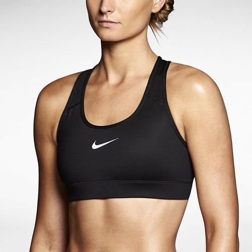 Stanik Nike Pro Bra Top 375833-010, kolor czarny