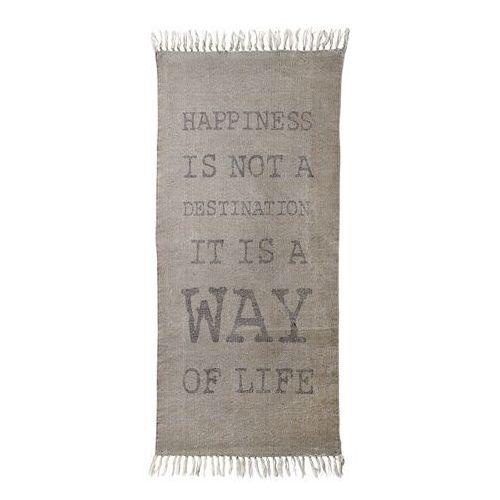 Dywanik Happiness, 60 x 120 cm, beżowym 958114 - oferta [15bed8aebf7363ed]