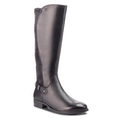 Oficerki - 9-25520-21 black nappa 022, Caprice, 36-38.5
