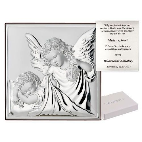 Obrazek Anioł Stróż Prezent Na Chrzciny GRAWER PR226