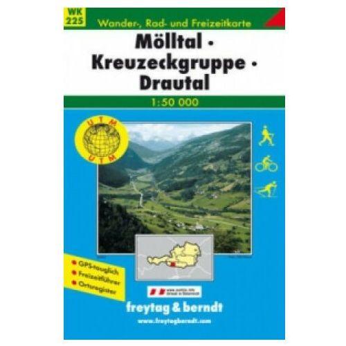 Freytag & Berndt Wander-, Rad- und Freizeitkarte Mölltal, Kreuzeckgruppe, Drautal
