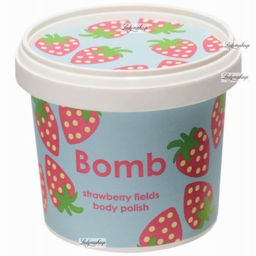 Bomb Cosmetics Strawberry Fields peeling pod prysznic (Shower Body Polish) 375 ml (5037028239032)