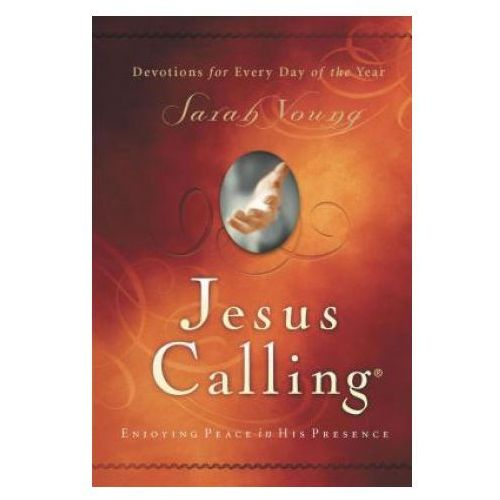 Jesus Calling, Enjoying Peace in His Presence, padded hardcover, with Scripture references, Young, Sarah