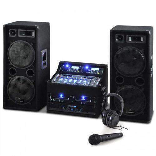 """Electronic-Star Zestaw DJ PA """"Terra Titan"""" 2000W, 400 osób (4260236119563)"""