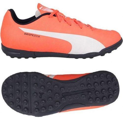 f1b1e524aab31 Buty PUMA EvoSpeed 5.4 TT 103296-01 (rozmiar 38) Pomarańczowy 71,99 zł Buty  piłkarskie Puma z coraz bardziej popularnej serii butów piłkarskich  evoSpeed.
