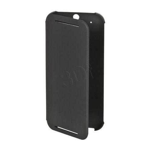Etui HTC One M8 Flip Case szare