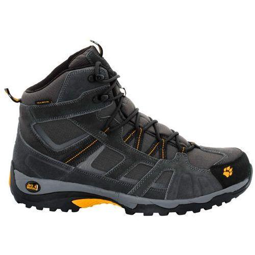 Jack wolfskin Buty vojo hike mid texapore men burly yellow - 12 (4052936561786)