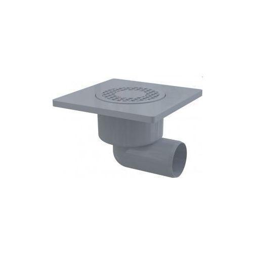 Kratka ściekowa plastikowa 150x150 mm odpływ boczny Alcaplast APV3 - produkt z kategorii- kratki ściekowe