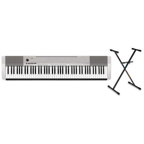 Casio cdp-130 sr pianino cyfrowe ze statywem