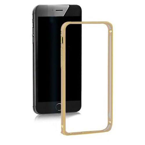Ramka ochronna na Samsung Galaxy S6 edge plus Qoltec złota (5901878513720)