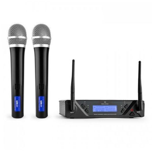 UHF-450 Duo1 2-kanałowy zestaw mikrofonów bezp.UHF