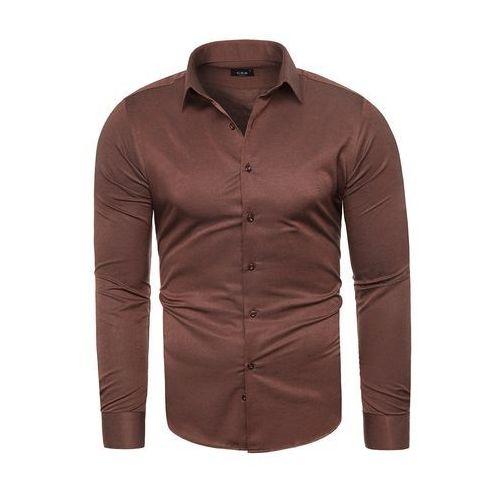 Wyprzedaż koszula męska C.S.S 275 - bordowa, kolor czerwony