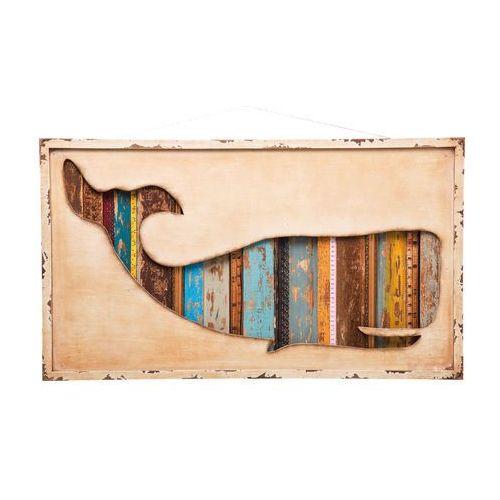 Kare Design Whale Dekoracja Ścienna 50x90cm - 35305 (obraz)