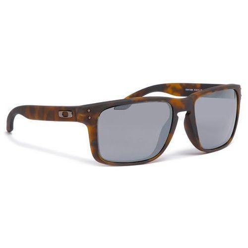 Okulary przeciwsłoneczne OAKLEY - Holbrook Xl OO9417-0259 Matte Brown Tortoise Prizm Black Iridium