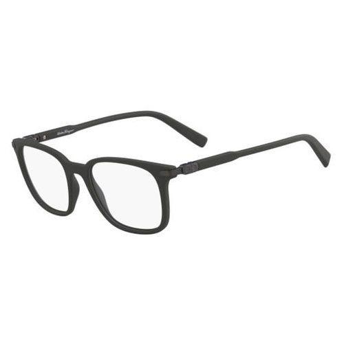 Okulary korekcyjne sf 2800 337 marki Salvatore ferragamo