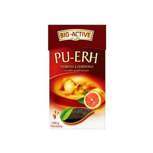Big-Active herbata czerwona Pu-Erh grejpfrut - liść 100g