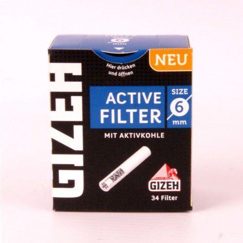 Filtr fajkowy, filtry do fajki 6 mm 34 szt marki Gizeh