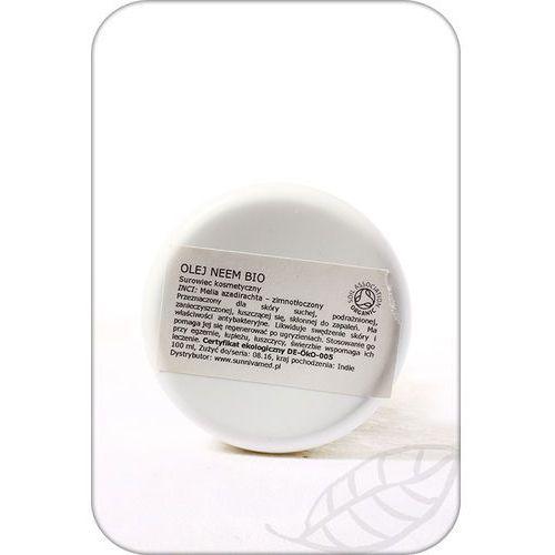 Sunniva Med: olej z miodli indyjskiej (neem) BIO - 100 ml